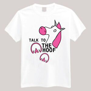 fc5e2d3c Funny Horse Talk to the hoof T-shirts Long or Short Sleeve ...