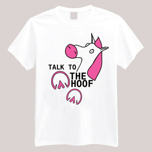 Funny Horse Talk to the hoof T-shirts Long or Short Sleeve Equestrian Theme