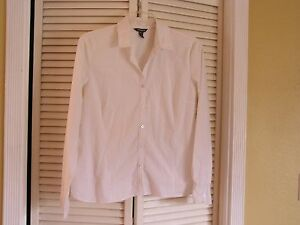 Womens Classic Button Front Blouse 80