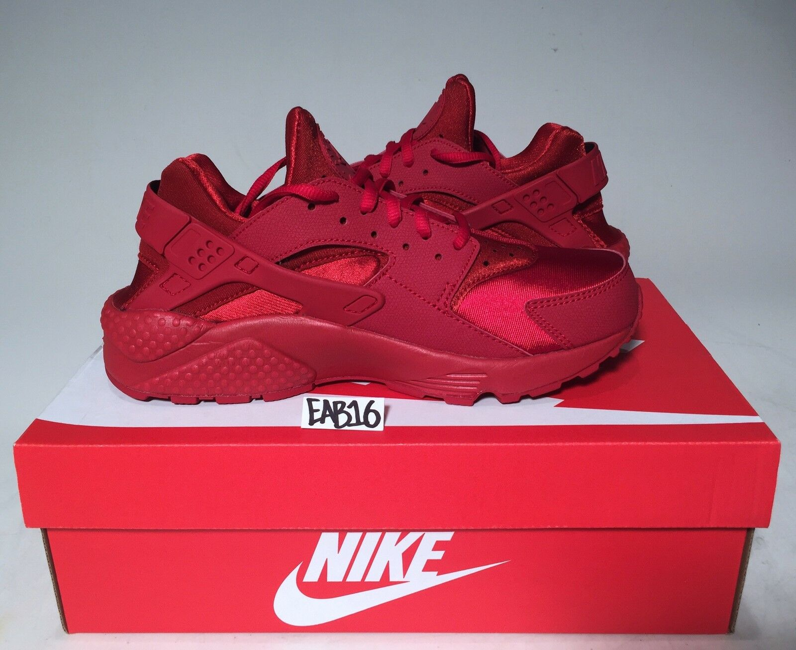 18ba6c7456c1 ... store nike air huarache triple all red wmns 634835 601 varsity 6 10 gym  ruby run