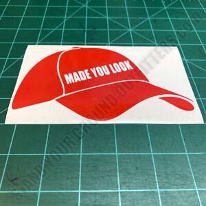 Red-Baseball-Cap-MAGA-Made-You-Look-Patriotic-USA-Second-Amendment-Decal-Sticker