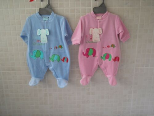 Baby Boy Girl clothes Sleepsuit All in One Blue pink boy girl Newborn 6 month