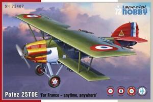 Maquette  a monter Avion Potez 25TOE For Françe 1:72eme Special Hobby