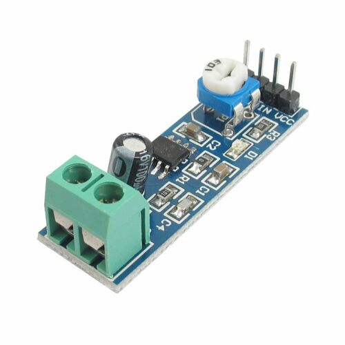 5 PC 2//3 LM386 Audio Amplifier Module 200 volte 5V-12V 10K RESISTORE variabile 1