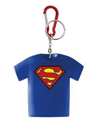 "Superman Logo 3/"" Rubber Figure Toys New krb-3907 DC Comics Key Chain"