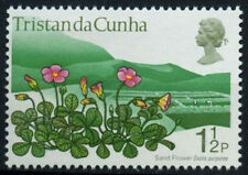 Tristan Da Cunha 1972 SG#160 1.5d Plant Definitive Wmk Crown To Left MNH #D25624