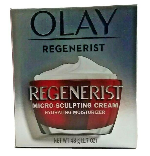 NEW in Box Olay Regenerist Micro-Sculpting Cream 1.7 ounce