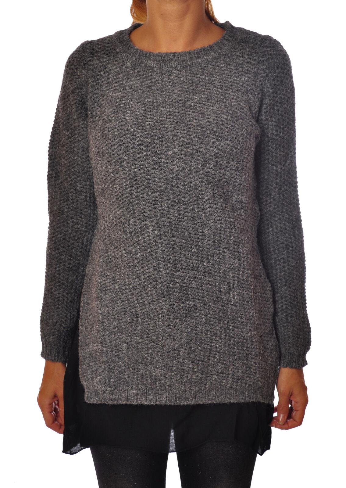 Rosa Memories  -  Sweaters - Female - grau - 2679129N173528