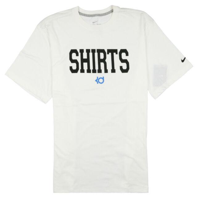 the best attitude 1a00b cfa86 Nike KD Shirts T-shirt Sz 2xl Xx-large White Photo Blue Black Durant  Warriors