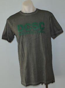 DC-Shoes-Mens-Printed-T-Shirt-GREY-SIZE-MEDIUM-NEW