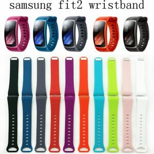 Smartwatch-Band-Schweissband-Ersatz-Silikon-for-Samsung-Gear-Fit-2-SM-R360