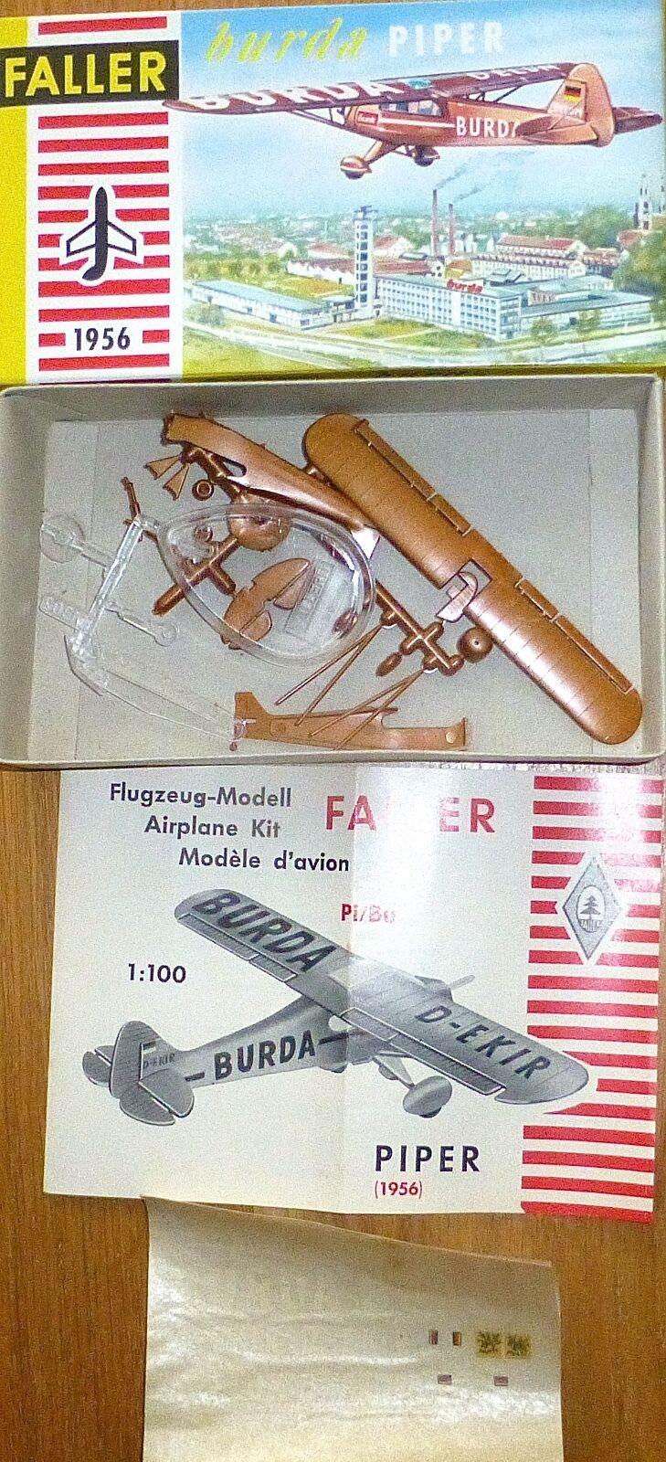 Burda Piper Pi   Bu Faller 1956 Ams 1 100 Kit Construcción sin Construir