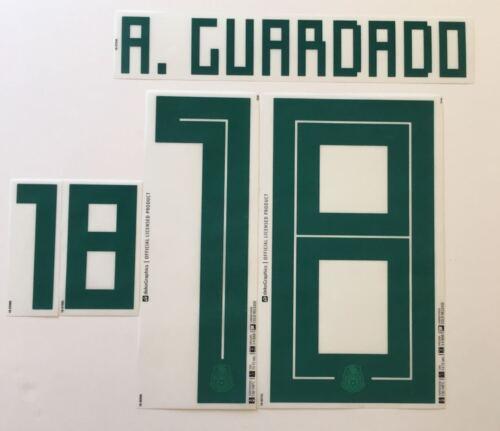 name set guardado Mexico dekoGraphics 2018 2019 away