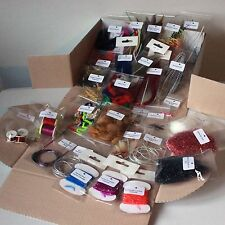Advanced Fly Tying Kit over £60 worth of selected FLYMAN materials FREE POSTAGE
