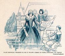 CHATEAU AZAY LE RIDEAU   FRANCE Document Philatélique Officiel  1887