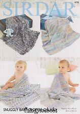 1900813c75fc Sirdar 4791 Knitting Pattern Cardigans in Snuggly Baby Crofter ...