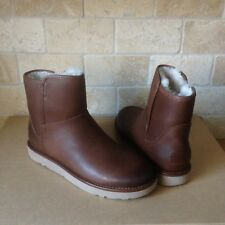 2db5d5bde77 UGG Classic Mini Abree Leather 1017851 Leather Shearling Womens 8 ...
