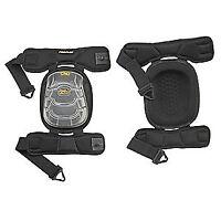 Clc Knee Pads,hinged,pu,gel,universal,pr, 378, Black