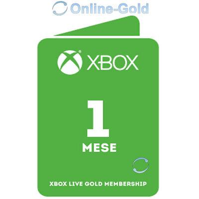 Abbonamento Xbox Live Gold di 1 mesi Codice Microsoft Xbox One 30 chiave - IT