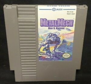 Metal-Mech-Man-amp-Machine-Nintendo-NES-Game-Rare-Tested-Authentic-Original