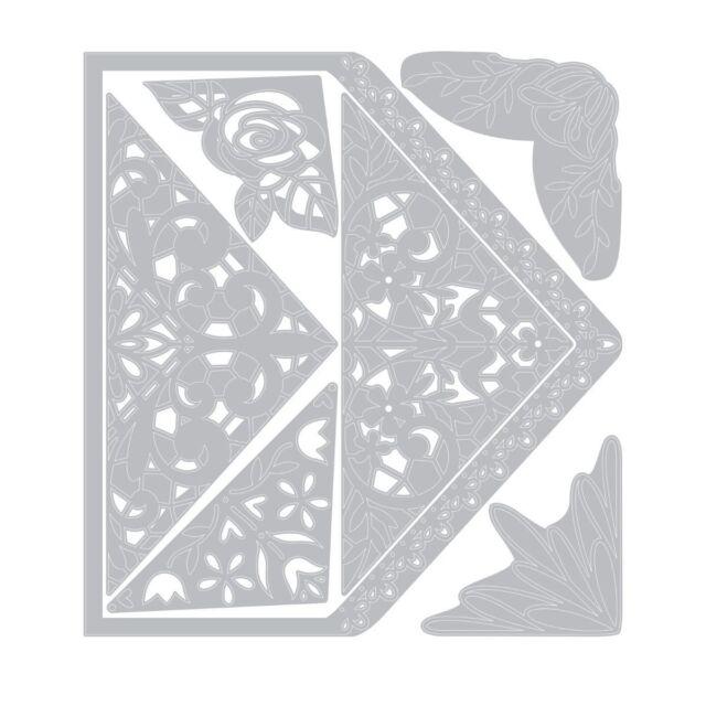 Sizzix Framelits Dies Envelope Liners By Katelyn Lizardi 10 Stanzschabl.Umschlag