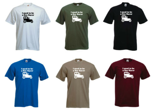Grandad Birthday T-shirt S-XXL /'I used to be a Boy Racer/' Funny Old car// Dad