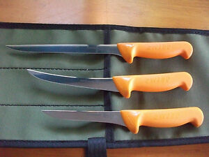 SWIBO-3-KNIFE-FISH-BOAT-SET-SWISS-HARD-STAINLESS-WITH-HEAVY-AUSSIE-CANVAS-WRAP