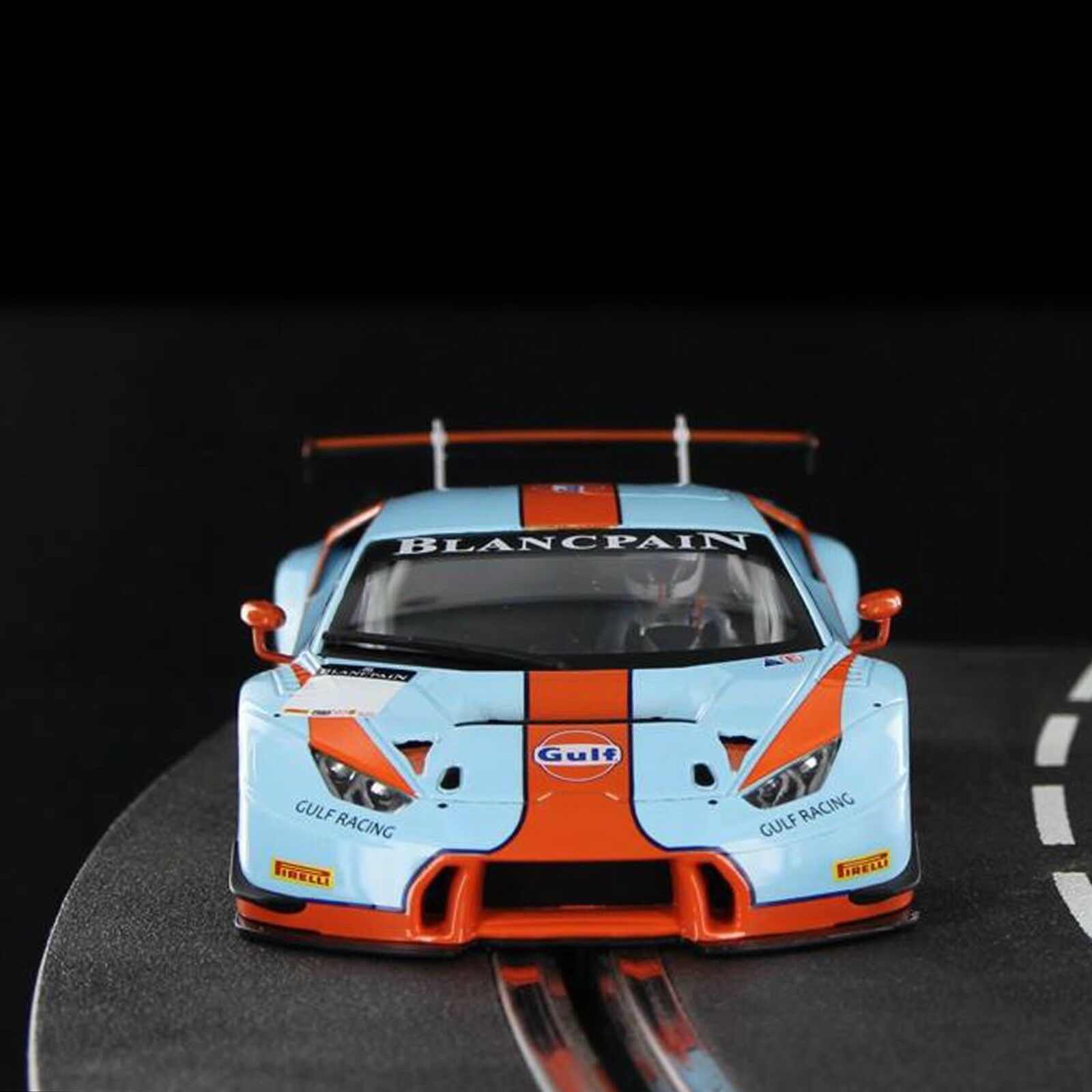 Sideways Racer SWCAR01C Team Team Team Gulf Lamborghini Huracan GT3 Limited Edition 1 32  | Schön geformt  dcd250
