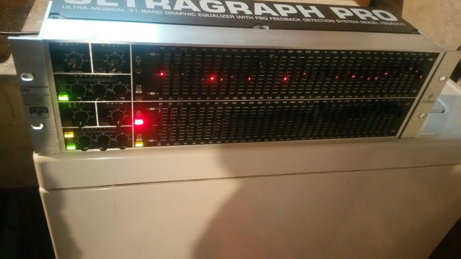 Dj equalizer beringer  FBQ6200