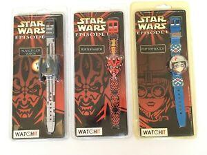 Star-Wars-Episode-1-Watch-Darth-Maul-Anakin-Skywalker-Droid-Starfighter