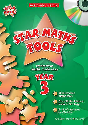 1 of 1 - Star Maths Tools Year 3 by Julie Cogill, Anthony David (Mixed media Book & CD)