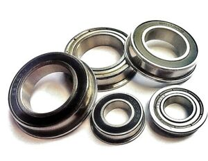 F61700 - F61906 Thin Series FLANGED  BEARINGS Full Range MTB.CYCLE.VELO<wbr/>.RC