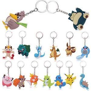 New Car Pokemon Holder Key Ring Keychain Pocket Pikachu Pokemon