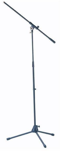 Mark Mikrofonstativ mit Schwenkarm 3-Fuß klappbar schwarz