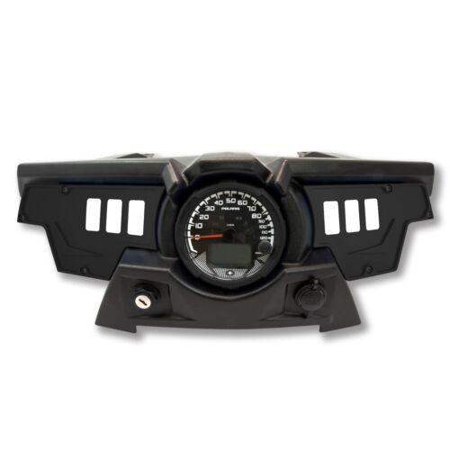 Polaris RZR XP 1000 switch Black Dash Panel set Black Powder coated