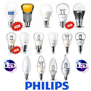 PHILIPS Lamp lampadine Led E27 E14 Lamps Lampada 15W 11.5W 9W 8W 6W 4W 3W 2W  eBay