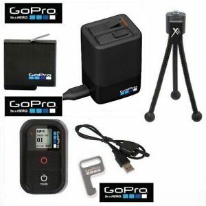 Détails sur AADBD 001 GOPRO Double Chargeur de batterie + batterie + Remote Kit pour GOPRO HERO 7 Noir afficher le titre d'origine