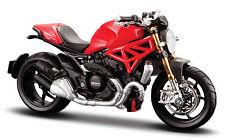 Ducati Monster 1200, 2014, Maisto Motorrad Modell 1:18, Neu, OVP