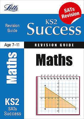 """AS NEW"" Huggins-Cooper, Lynn, Broadbent, Paul, Maths: Revision Guide (Letts Key"
