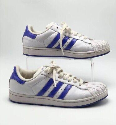 Adidas SuperStar Shell Toe White Blue