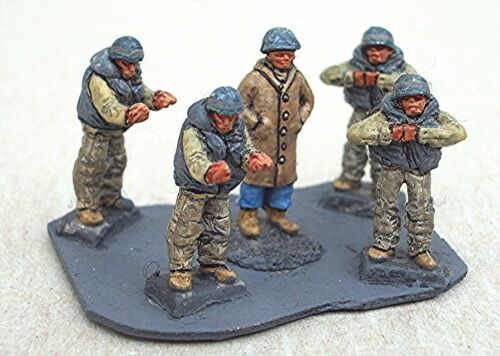 SGTS MESS LC7 1//72 Diecast WWII US Five Man Landing Craft Crew