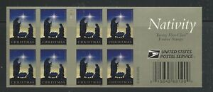2016 #5144a with 5144 Christmas Nativity Forever Complete Booklet of 20