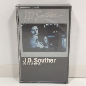 Rare-Vintage-1984-JD-Souther-Home-By-Dawn-Audio-Cassette-Tape-Sealed-Warner-Bros