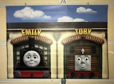 Thomas And Friends Toys R Us Display Vinyl Banner Emily And Toby 4 X 3 Ebay