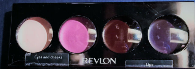 REVLON ILLUMINANCE ALL OVER PALETTE PASSION FUSION QUAD  EYES,CHEEKS & LIPS BNIB