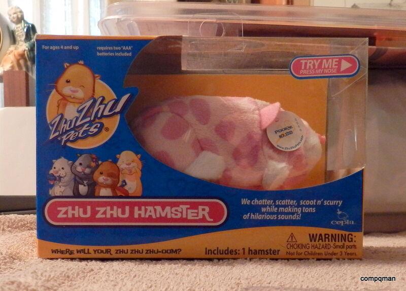 ZHU ZHU HAMSTER PETS POOKIE  Dated 2010 Fast Free Shipped