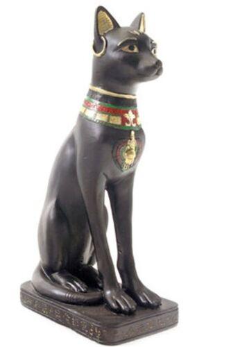Statue Bastet Katze Ägypten Dekofigur ägyptische Figur Skulptur Deko 20 cm