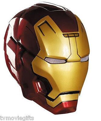 Marvel Iron Man 3 Mark 42 Adult 2-Piece Helmet Mask One Size Licensed 55698 New