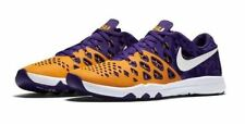 Nike LSU Tigers Train Speed 4 AMP Mens Shoes 9 Gold Purple 844102 711