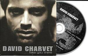 CD-CARTONNE-CARDSLEEVE-COLLECTOR-DAVID-CHARVET-TAKE-YOU-THERE-1T-DE-2003-NEUF